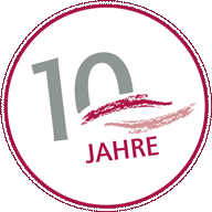 Jubiläums-Siegel Logopädie Lynen